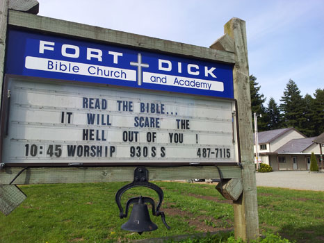Fort Dick Bible Church